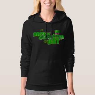 Happy St. Patrick's Day Women's Pullover Hoodie