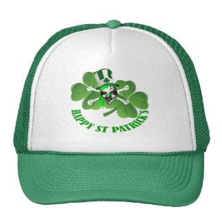 Happy St Patrick's scary clown Hat