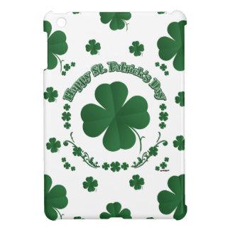 Happy St Patrick's Shamrocks Case For The iPad Mini