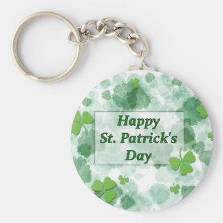 Happy St. Patricks's Day Keychain