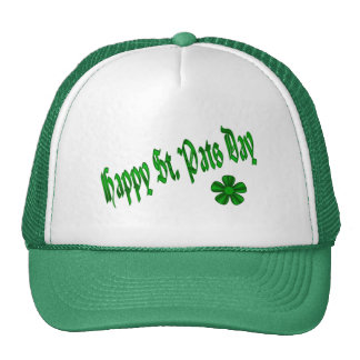 happy st pats day trucker hat