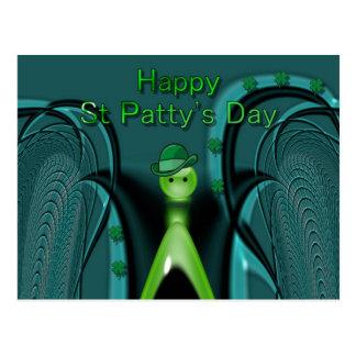 Happy St Patty's Day Postcard