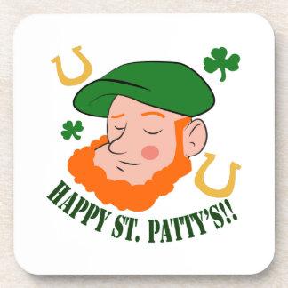 Happy St. Pattys Drink Coaster