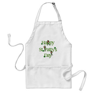 Happy St. Patty's Day Adult Apron
