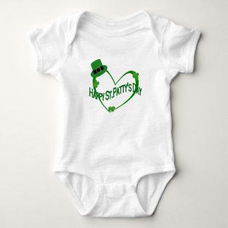 Happy ST Pattys Day Baby Bodysuit