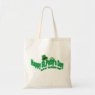 Happy ST Pattys Day Budget Tote Bag