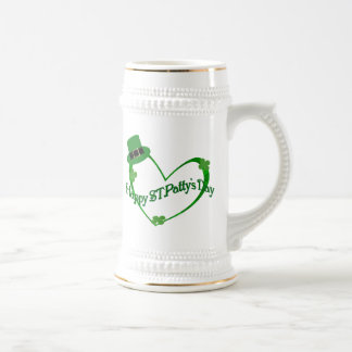 Happy ST Pattys Day Beer Stein