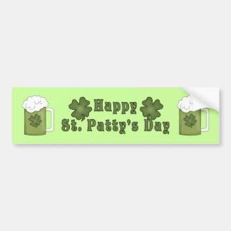 Happy St Patty's Day Bumper Sticker