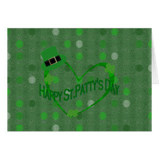 Happy ST Pattys Day Card