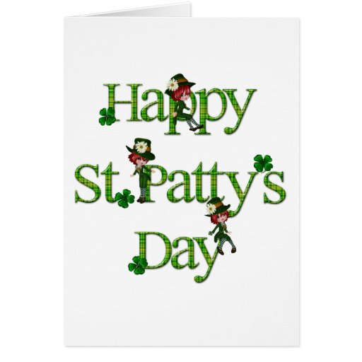 Happy St. Patty's Day Card
