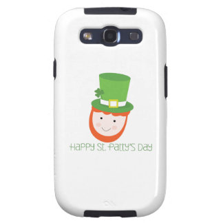 Happy St. Patty's Day Galaxy S3 Cases