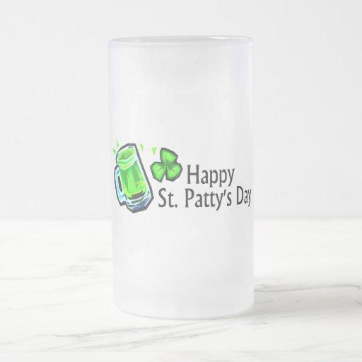 Happy St Pattys Day Coffee Mugs
