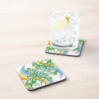 Happy St. Patty's Day Drink Coaster