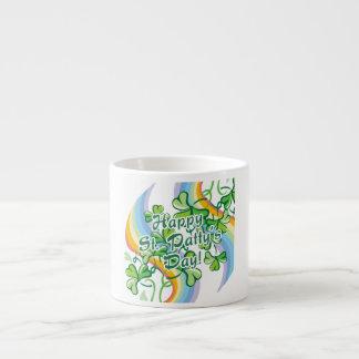 Happy St. Patty's Day Espresso Cup