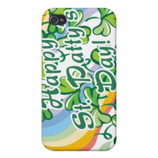 Happy St. Patty's Day iPhone 4 Covers