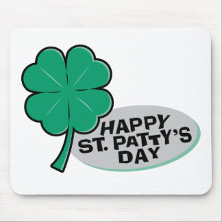 Happy St Patty's Day Mousepad