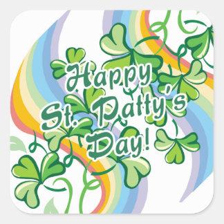 Happy St. Patty's Day Square Sticker
