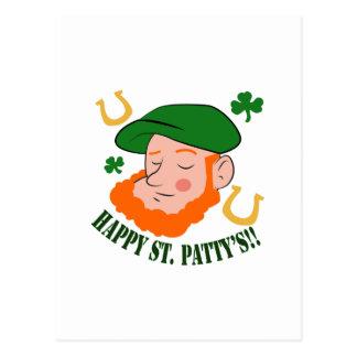 Happy St. Pattys Postcard