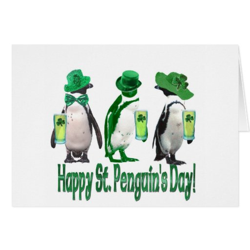 Happy St. Penguin's Day Card