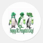 Happy St. Penguin's Day Sticker