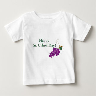 Happy St. Urho's Day! with Grapes Baby T-Shirt