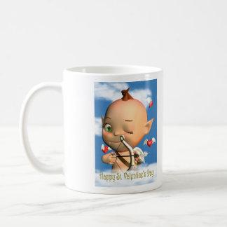 Happy St. Valentine's Day Cupid Mug