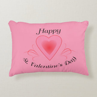 Happy St. Valentine's Day Pillow