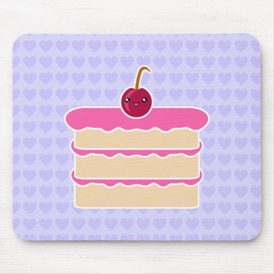 Happy Stacks Kawaii Cake Mousepad