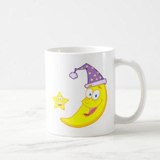 Happy Star And Moon Coffee Mug