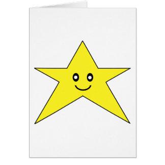 Happy Star Card
