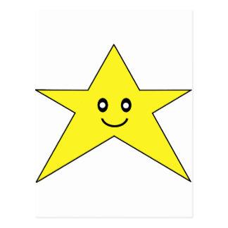 Happy Star Postcard