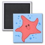 Happy starfish magnet
