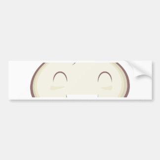 Happy Steam Bun Bumper Sticker