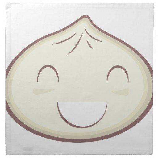 Happy Steam Bun Printed Napkin