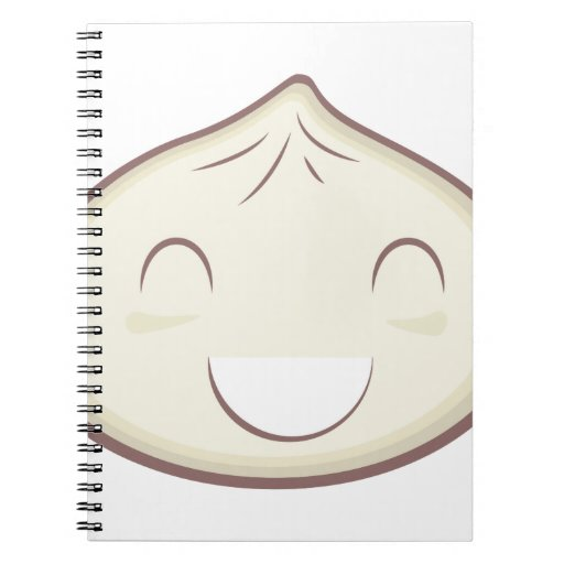 Happy Steam Bun Notebooks