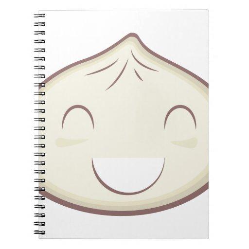 Happy Steam Bun Notebook