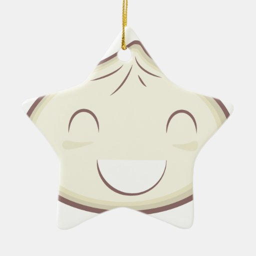 Happy Steam Bun Ornaments