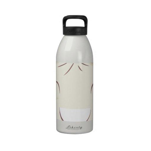 Happy Steam Bun Reusable Water Bottle