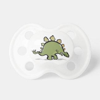 happy stegosaur BooginHead pacifier