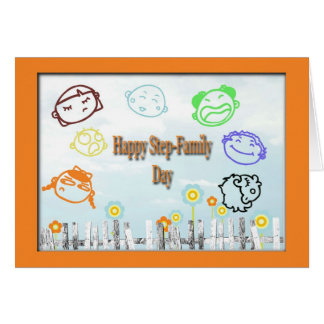 Happy Step-Family Day Card
