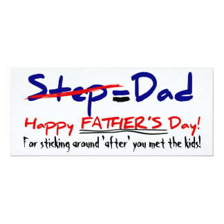 Happy Step-Father's Day 1 - Card
