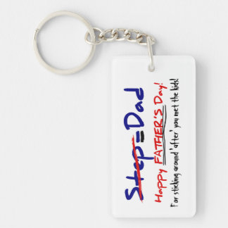 Happy Step-Father's Day 2 - Key Chain