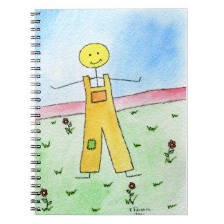 Happy Stick Man Notebook