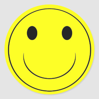 Happy Sticker - EXTRA LARGE