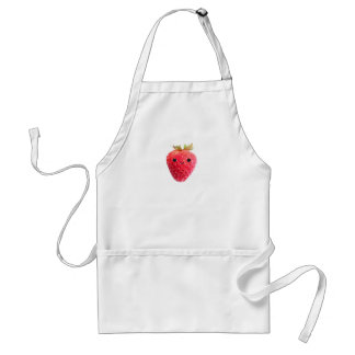 Happy Strawberry Adult Apron