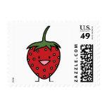 Happy Strawberry Stamp