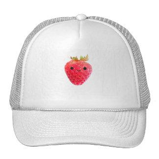 Happy Strawberry Trucker Hat