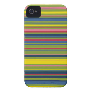 Happy stripes iphone 4 cover