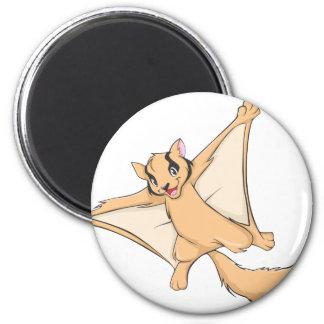 Happy Sugar Glider 2 Inch Round Magnet