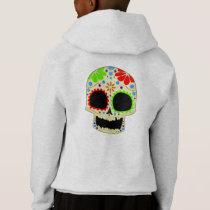 Happy Sugar Skull Art Hoodie